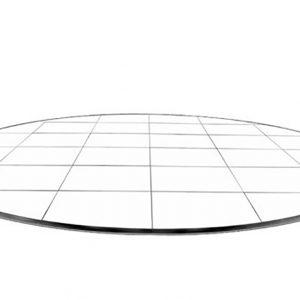 Laminated Checkered Square